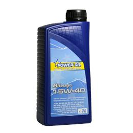 POWER OIL MILEAGE 15W40 1L ULJE ZA MOTOR