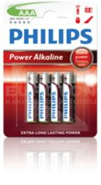 PHILIPS BATERIJA LR03 (AAA) POWER ALKALINE 4/1 - BLISTER